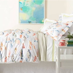 Happy Fish Duvet Cover<font color=a8bb35> NEW</font>