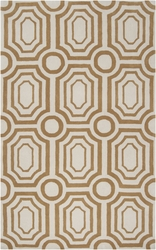 Hudson Park Pavers in Taupe Plush Pile Rug