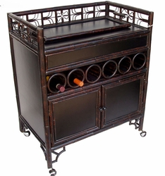 Indochine Cane Wet Bar