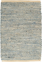 Jacinto French Blue Jute Rug<font color=a8bb35> NEW</font>