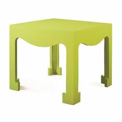 Jordan Tea/Side Table in Spring Green