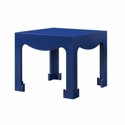 Jordan Tea/Side Table in Blue