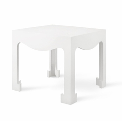 Jordan Tea/Side Table in White