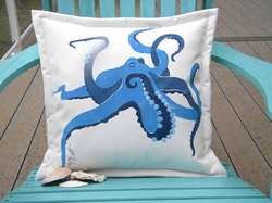 Kracken Outdoor Pillow
