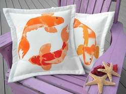 Koi Pillow