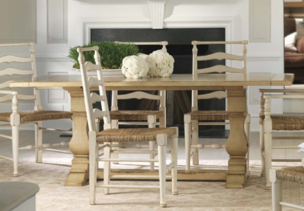 Lake Tahoe Dining Table In Three Sizes For Sale Cottage