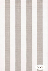 Lakehouse Platinum/White Indoor/Outdoor Rug