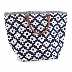 Le Tote Navy/Ivory Grand