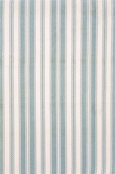 Lighthouse Light Blue & Ivory Indoor/Outdoor Rug