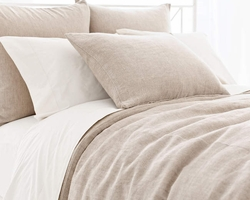 Linen Chenille Natural Duvet Cover