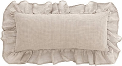 Linen Mesh Double Boudoir Pillow (Lined)