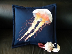 Lion's Mane Jellyfish Pillow