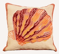 Lions Paw Seashell Pillow