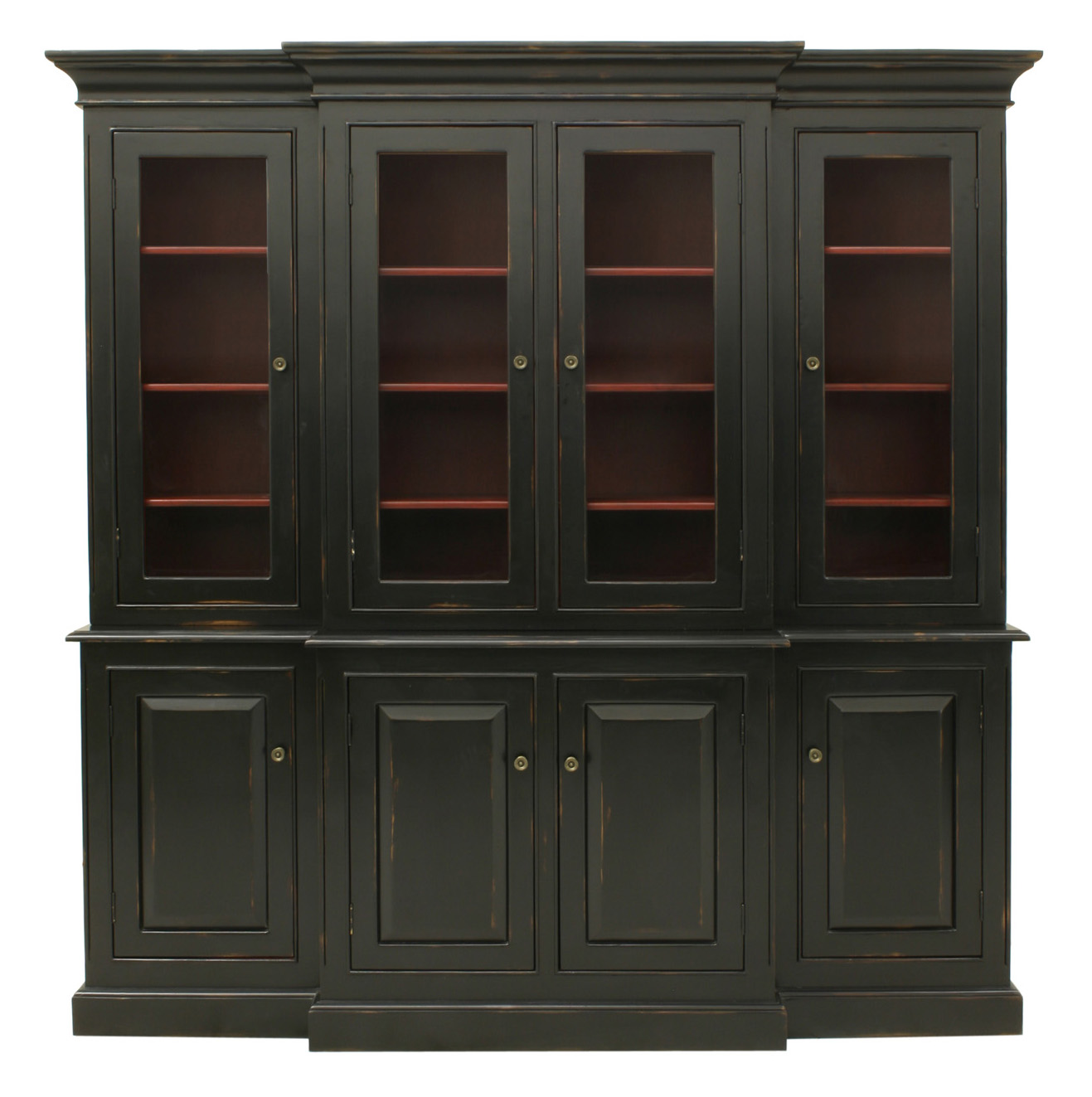 Livingston Hutch With Seeded Glass For Sale Cottage