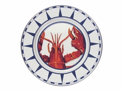 Lobster Dinner Plates Set of Four