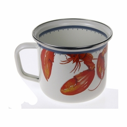 Lobster Soup Mug Set of Four
