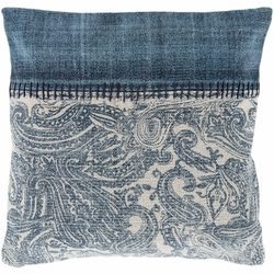 Lola Paisley Pillow in Two Sizes<font color=a8bb35> NEW</font>