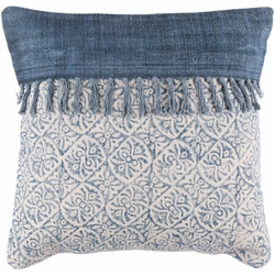 Lola Pillow with Fringe <font color=a8bb35> NEW</font>