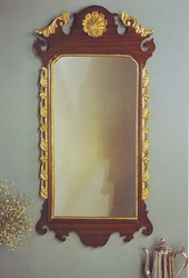 Mahogany Chippendale with Shell Mirror