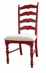 Maine Ladderback Side/Arm Chair