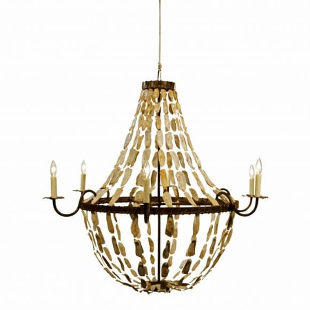 May River Empire Chandelier in Three Sizes