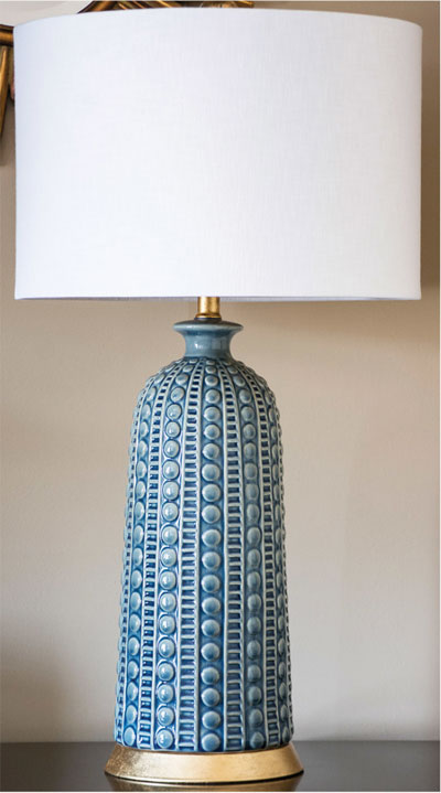 Melrose ceramic table lamp for sale cottage bungalow mozeypictures Choice Image