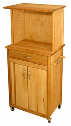 Microwave Space Saver Kitchen Cart