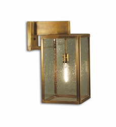 Midtown - Wall Mount Light Fixture with Clear Seedy Glass