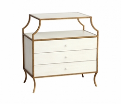 Mila Three Drawer Side Table