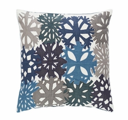 Mineral Applique Decorative Pillow <font color=a8bb35> NEW</font>