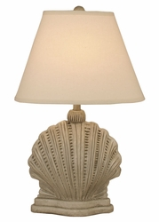 Mini Scallop Shell Table Lamp