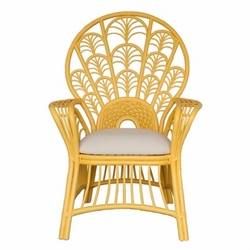 Moderne Maru Peacock High Back Chair<font color=a8bb35> NEW</font>