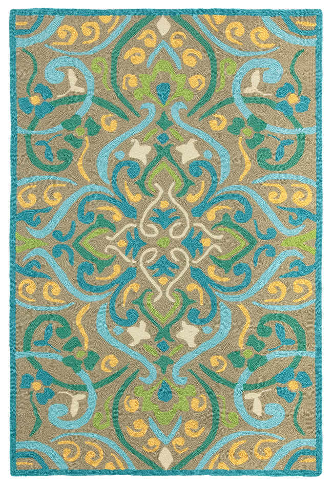 Morocco Outdoor Rug In Aqua For Sale Cottage Amp Bungalow