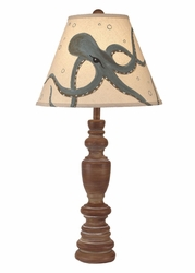 Multi Ring Casual Pot Table Lamp