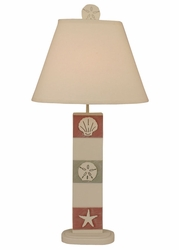 Multi Shell Table Lamp - Two Color