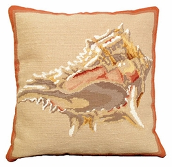 Murex Shell Pillow