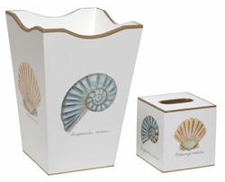 Nautilus and Scallop Bath Set<font color=cf2317> Discontinued</font>
