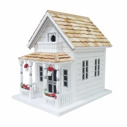 Newburyport Cottage Birdhouse <font color=a8bb35>Backorder</font>