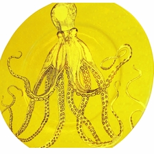 Octopus Platter in Yellow <font color=a8bb35> Discontinued</font>
