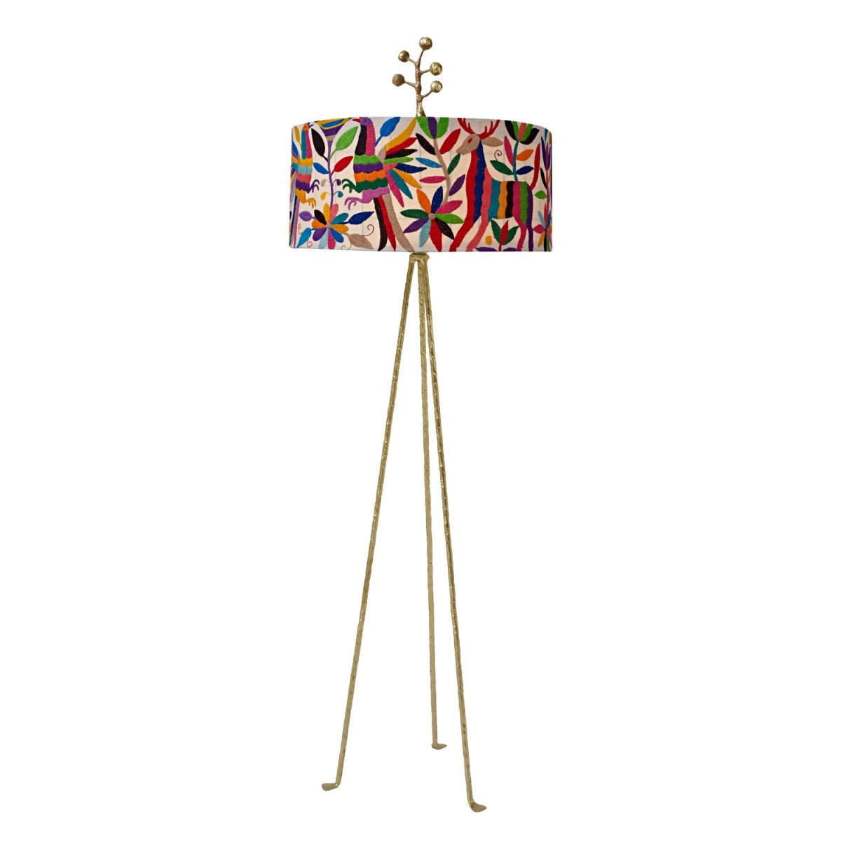 Otomi floor lamp in multi colors for sale cottage bungalow aloadofball Images