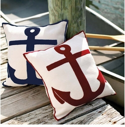 Outdoor Pillows in Patterns