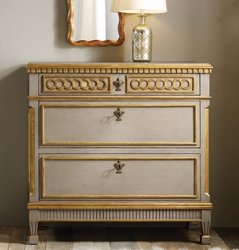 Painted Regency Bedside Chest