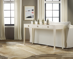 Painted Three-Drawer Console
