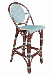 Paris Bar Stool in Blue