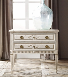 Paris Two Drawer Commode<font color=a8bb35> NEW</font>