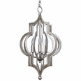 Pattern Makers Small Silver Chandelier