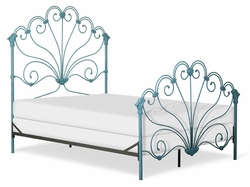 Peacock Iron Bed