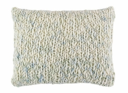 Chunky Knit Seamist Decorative Pillow<font color=a8bb35> NEW</font>