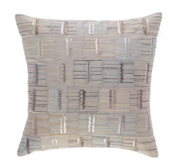Pine Cone Hill Lamellae Embroidered Decorative Pillow <font color=a8bb35> NEW</font>