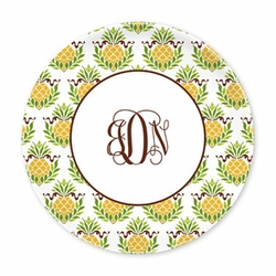Pineapple Repeat Plates - Set of Four